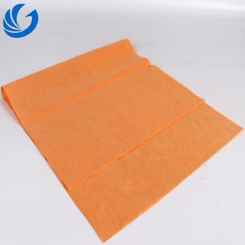35gsm 橙色方格点无纺布